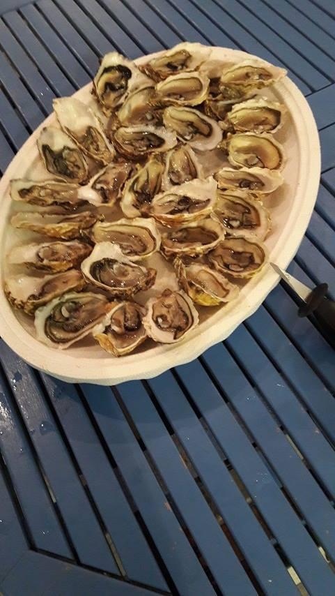 plat huîtres chaudes